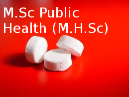 Master of Science in Public Health (MHSc)