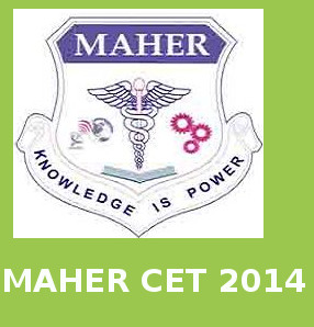 MAHER CET 2014 Application Form