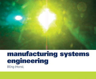 Bachelor of Engineering (BE Manufacturing Hons)