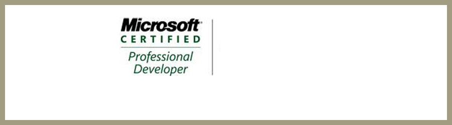 Certification Microsoft Certified Professional Developer (CMCPD)