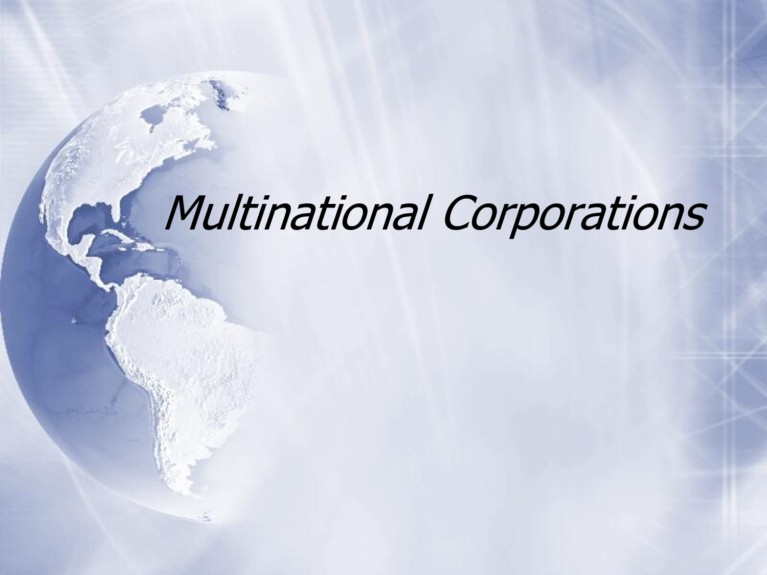 Diploma Multinational Corporations (DMC)