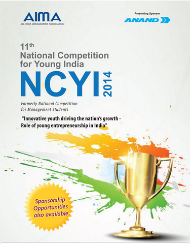 AIMA's 11th National Competition for Young India 2014
