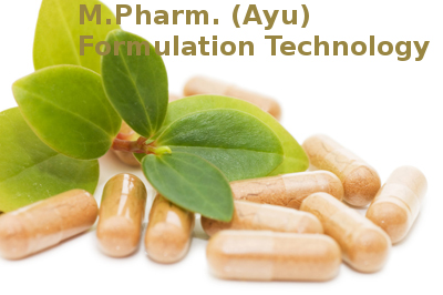 Master of Pharmacy (MPharm Ayu Formulation Technology)