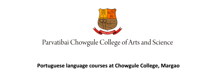 Portuguese language courses at Chowgule College, Margao