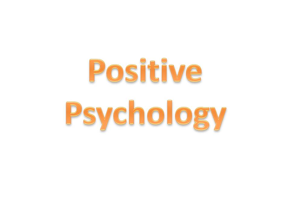Certificate course in Positive Psychology Perspective