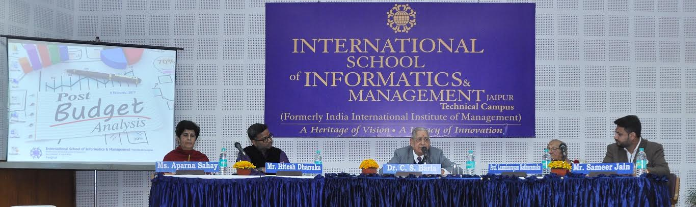 Post Budget Analysis Session organized at IIIM