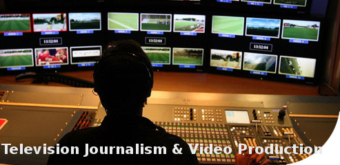 Post Graduate Diploma Television Journalism & Video Production