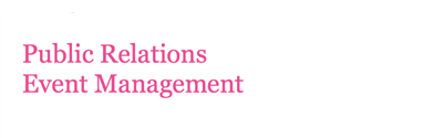 Post Graduate Diploma in Public Relations & Event Management
