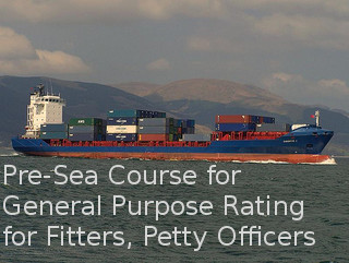 Pre-Sea Course for General Purpose Rating for Fitters, Petty Officers