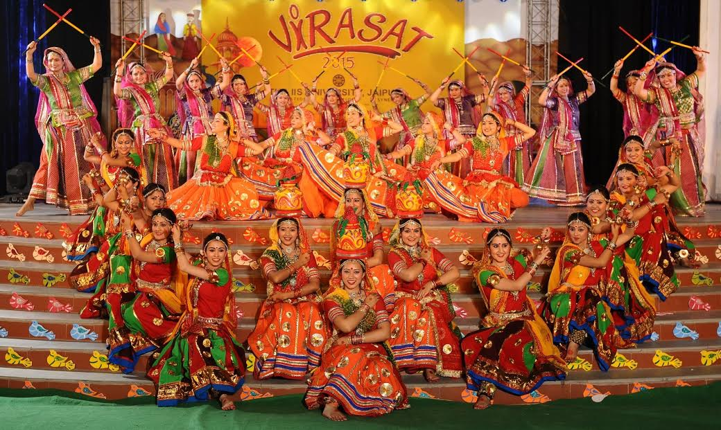 The IIS University salutes womanhood in 20th Annual Function Virasat 2015