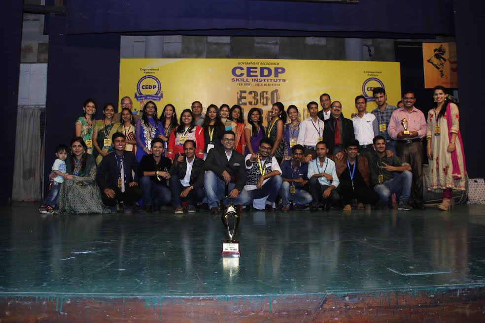 "CEDP Skill Institute organised Annual Graduating Show ""SKILL REBELS 2016"""