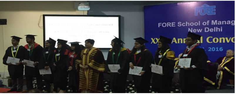 XXIII Annual Convocation ceremony of FORE School of Management, Delhi