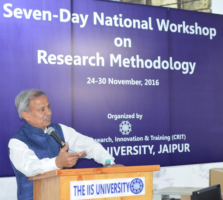 Seven days National Workshop on Research Methodology concluded