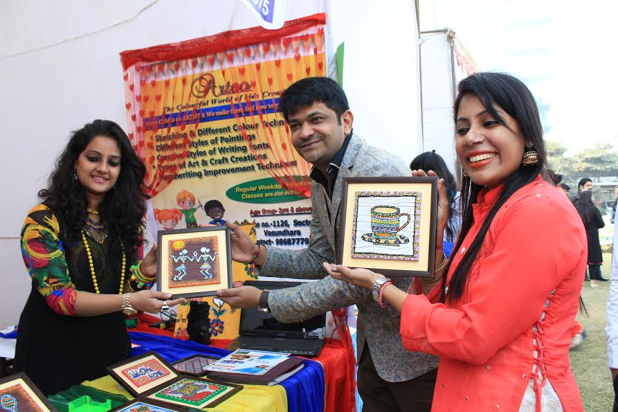IMS Noida organized a unique exhibition 'Shakti Haat' to promote Women Empowerment and Women Entrepreneurship