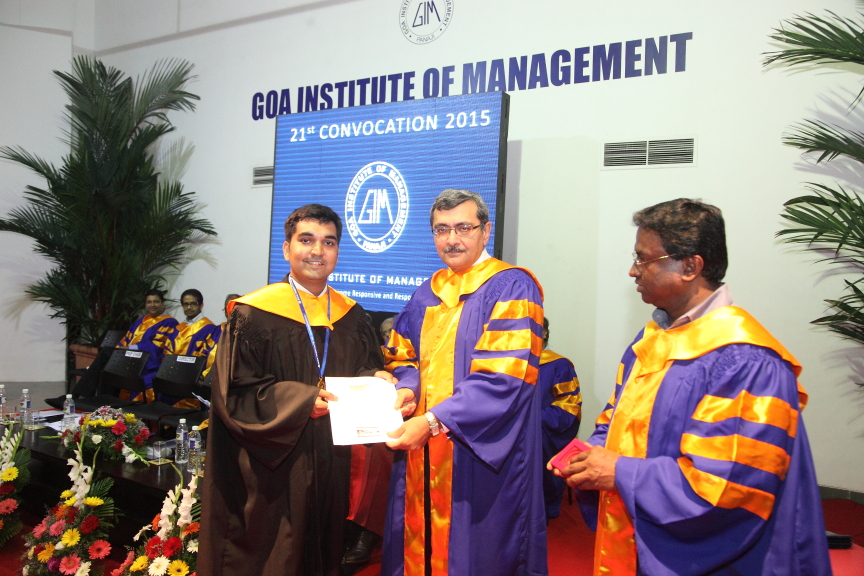 332 students of GIM receive the coveted MBA diploma at the B-school's 21st Convocation Day