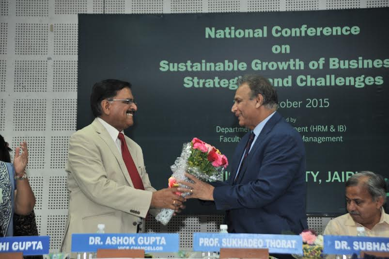 The National Conference on Sustainable Growth of Business: Strategies and Challenges