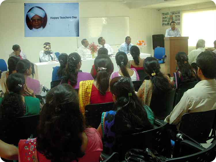 Teacher's Day was celebrated with great enthusiasm at Sanskriti Group of Institutions