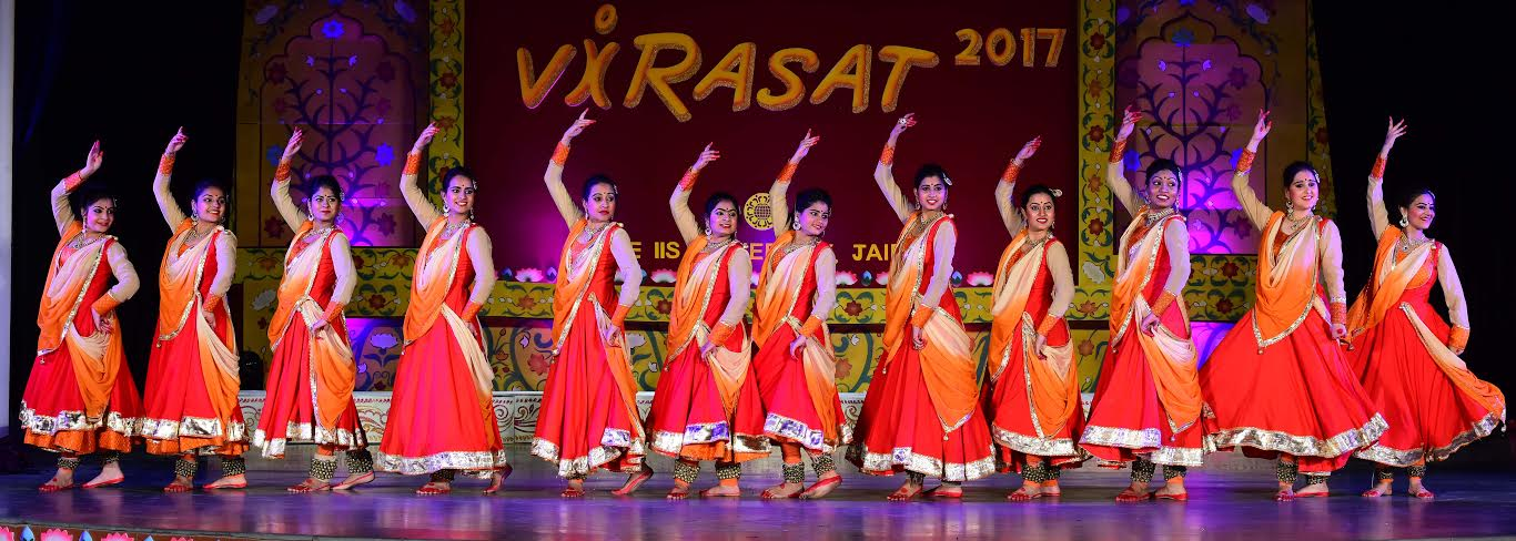 The IIS University salutes womanhood in 22 nd Annual Function 'Virasat  2017'