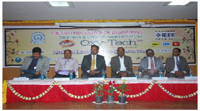 "Successful concluding of 2-Day, National Level Techno-Cultural Fest - ""Oxy-Tech 2013"""