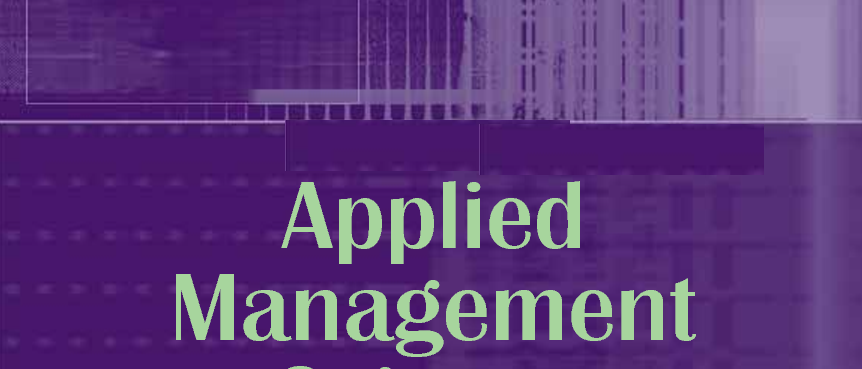 Masters Of Applied Management (MAM)