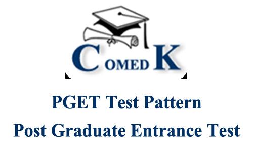COMEDK PGET 2016 Test Pattern