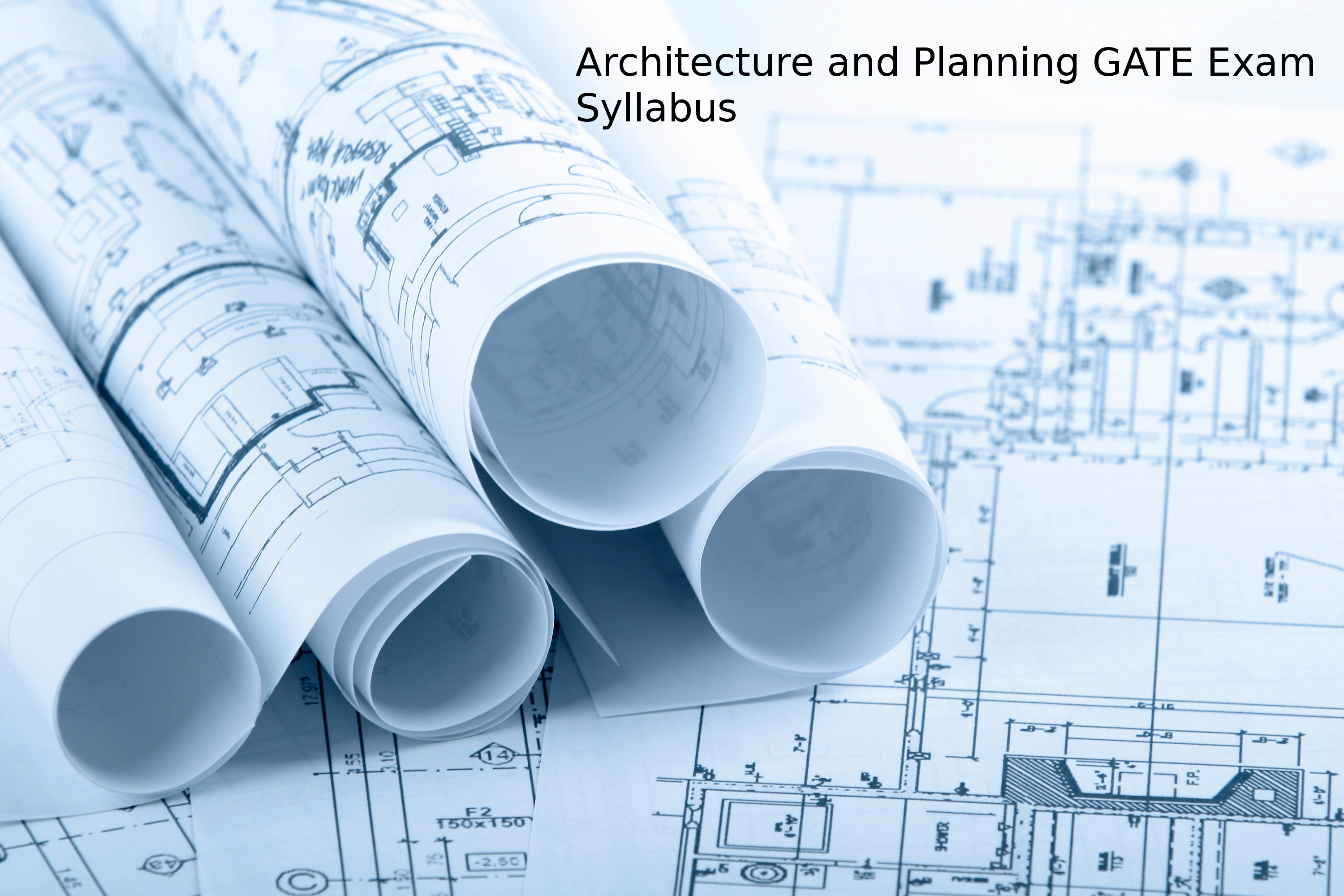 AR: Architecture and Planning GATE Exam Syllabus