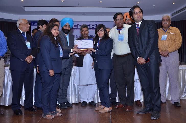 JKBS bags the Best Management College For Placement Award