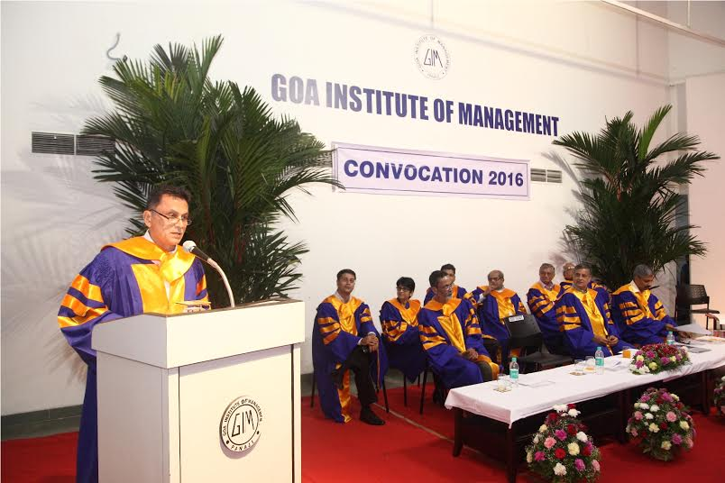 291 students of GIM receive the coveted MBA diploma at the B-School's 16th  Convocation Day