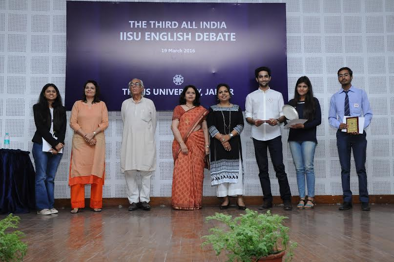 Third All India IISU English Debate