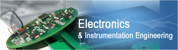 Bachelor of Engineering (BE Electronics & Instrumentation Engineering)