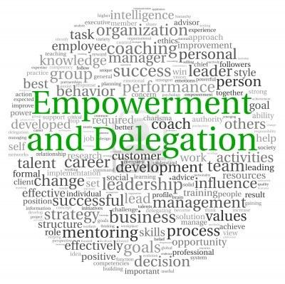 Delegation versus empowerment