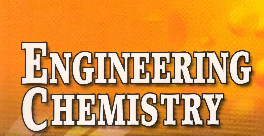Bachelor of Engineering (BE Engineering Chemistry)