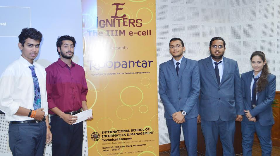 IIIM organizes Business Plan Competition 'Roopantar'