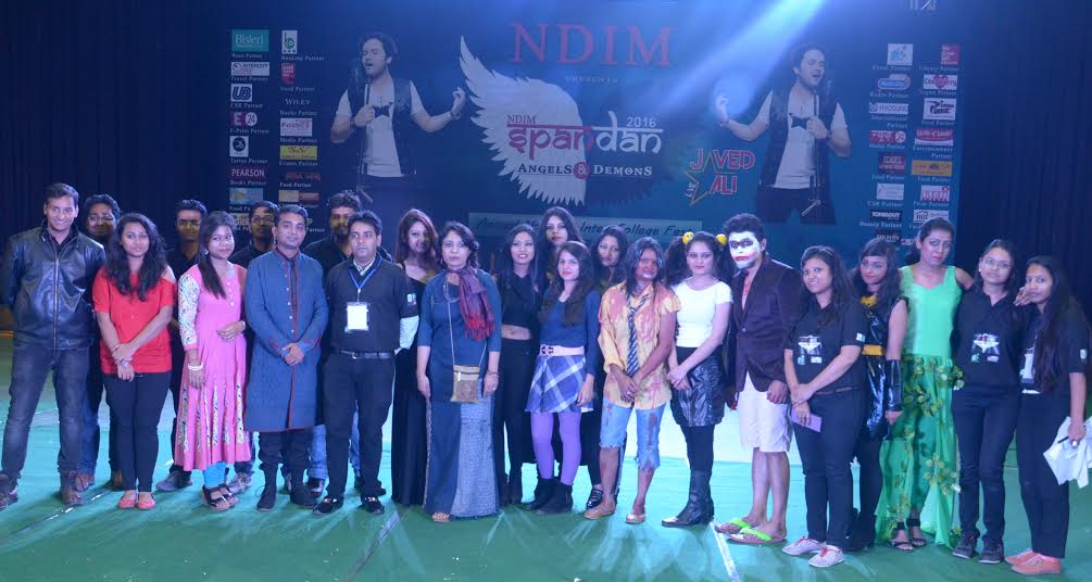Spandan organized in a big way at NDIM