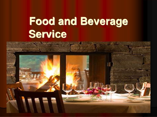 Diploma in Food and Beverages Service