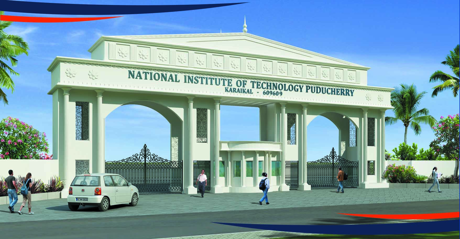 NIT Puducherry receives Award of Excellence by CCI Technology Education Awards 2014