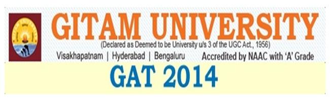 GAT 2014 - Important Dates