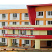 College building and computer center - College building and computer center