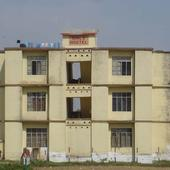 College Girls Hostel Building Front View