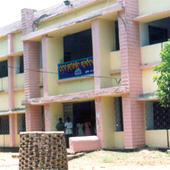 College Front View Of Academic Block - College Front View Of Academic Block
