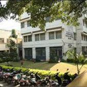 College Building Front View and Parking