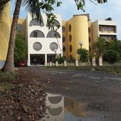 Entrance of College - Entrance of College