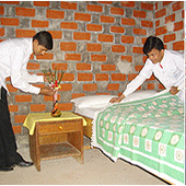 Housekeeping and Laundry Training Room - Housekeeping and Laundry Training Room