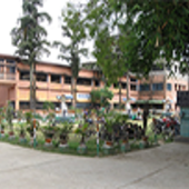 College Building View