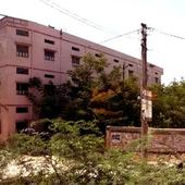 College Girls Hostel Building View