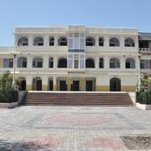 College Building Front View