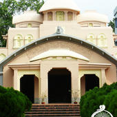 Front View of College Ashrama - Front View of College Ashrama