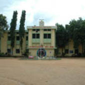 Front View of College Building - Front View of College Building