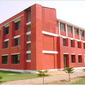 College Building Side View - College Building Side View