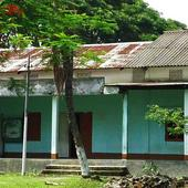 Front view of College Building and Campus - Front view of College Building and Campus